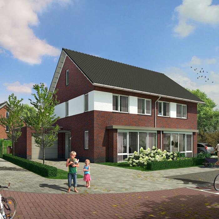 19 woningen De Nieuwe Wiek Kootwijkerbroek