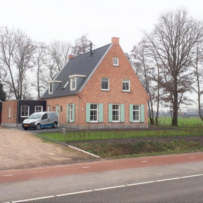 2 vrijstaande woningen Valkseweg in Barneveld